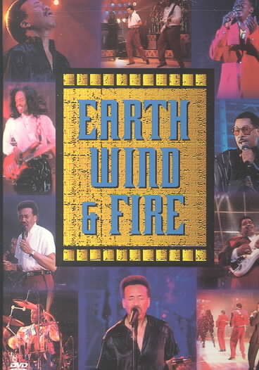 EARTH,WIND & FIRE:LIVE BY EARTH,WIND & FIRE (DVD)